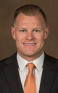 University of Texas Women's Basketball Sports Performance Coach Zack Zillner.