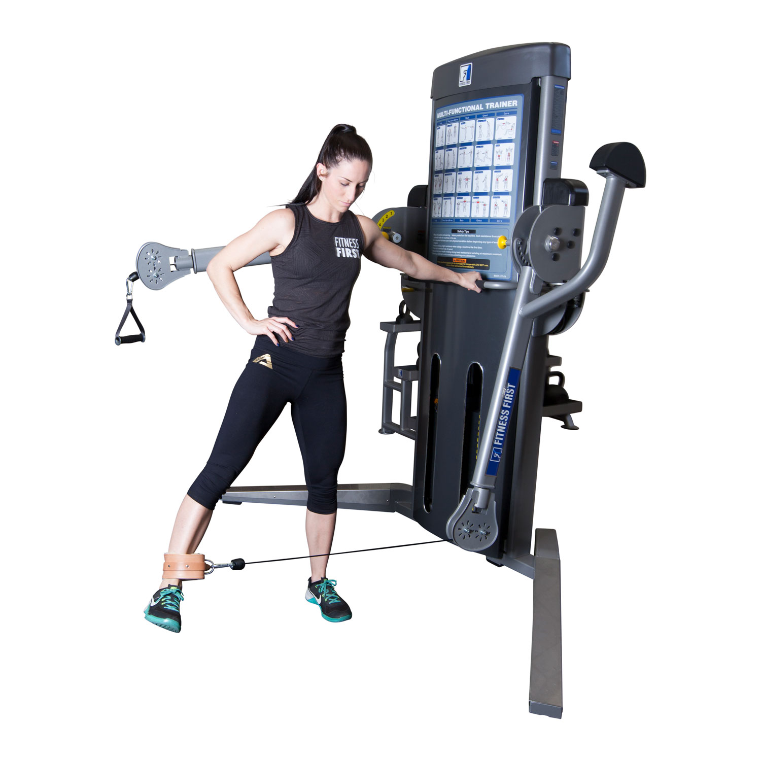 Fitness First Free Motion Machine and 4 Great Exercises